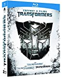 Transformers + Transformers 2 - La revanche + Transformers 3 - La face cachée de la Lune [Francia] [Blu-ray]