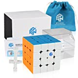 Coogam Gans 460 M Speed Cube 4x4 Gan460 Magnetic Puzzle Cube with IPG System (Stickerless) (Color: Stickerless)