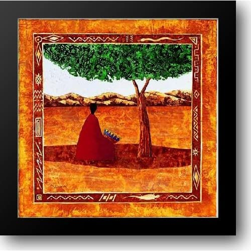 amazon   moga   le percussionniste 32x32 framed art