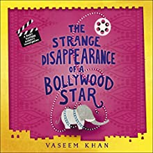 The Strange Disappearance of a Bollywood Star: Baby Ganesh Agency, Book 3 Audiobook by Vaseem Khan Narrated by Madhav Sharma