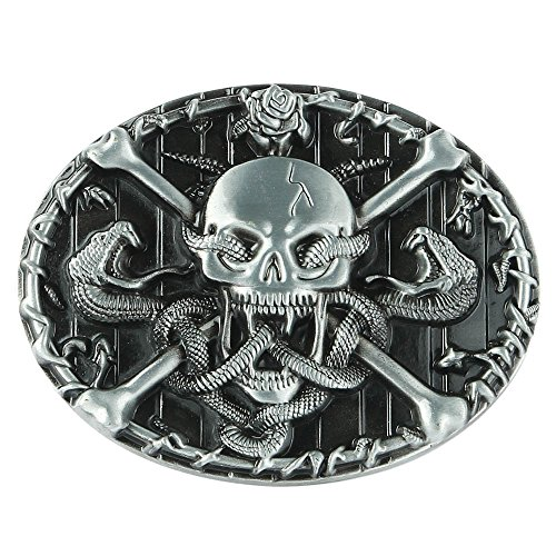 senmi-skull-rope-snake-metal-belt-buckle