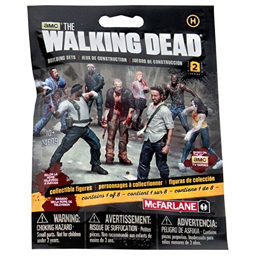 McFarlane Toys Construction Sets- The Walking Dead TV Series 2 Blind Bag Figure (Human Bag) (Walking Dead Figures Series 2 compare prices)