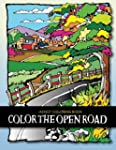 Adult Coloring Book: Color the Open Road