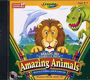 Amazon Crayola Magic 3D Coloring Book