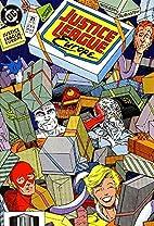 Justice League America #74 by Dan Juegens &…