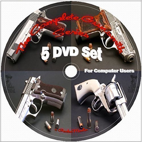 Gunsmithing & Reloading The Complete At Home Series 5 DVD Set: Includes 1700 Gun Manuals (Gunsmithing Made Easy compare prices)