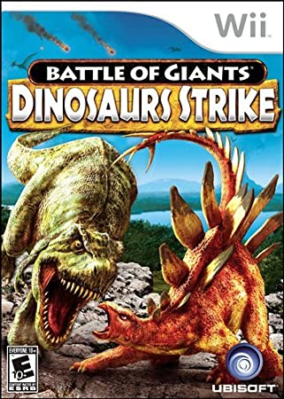 Battle of Giants Dinosaur Strike