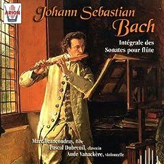 Bach : Int�grale des sonates pour fl�te