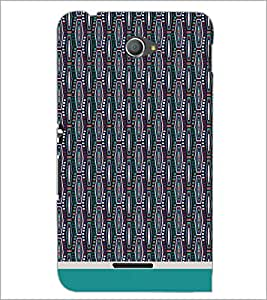 PrintDhaba Pattern D-1753 Back Case Cover for SONY XPERIA E4 (Multi-Coloured)