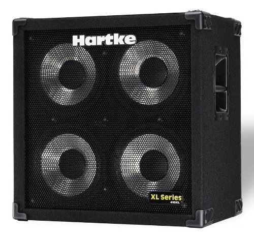 Hartke 410XL Bass Guitar Amplifier 4x10 Cabinet, 400 watts