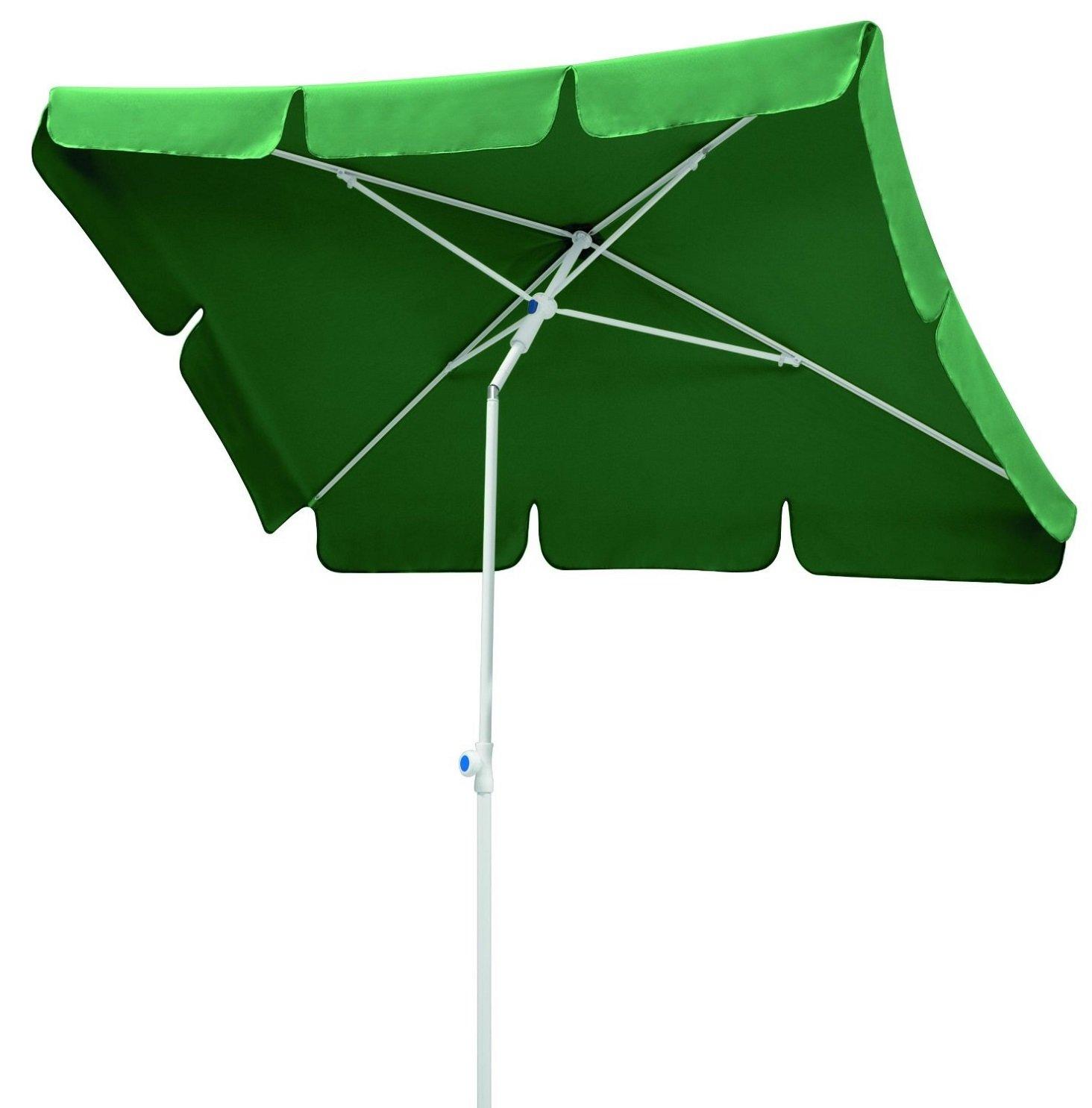 """Schneider Gartenschirm """"Monza 180×120"""" in dunkelgrün, perfekt auch für den Balkon günstig online kaufen"""