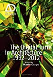 The Digital Turn in Architecture 1992-2010: AD Reader