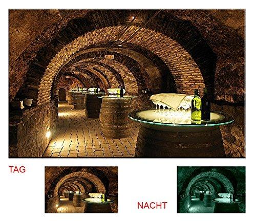 Startonight, Images sur Toile Motif,tonneau de vin, incroyable Startonight, 40 cm x 60 cm Tableaux pour la mur, encadres, prets a poser, tout les images sur chassis, bois veritable.