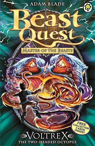 Master of the Beasts Series 10: Voltrex the Two-headed Octopus (Beast Quest) by Blade, Adam (2014) Paperback (Beast Quest Voltrex compare prices)