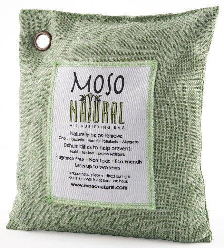 Moso MB8721 Natural Air Purifying Bag, 500gm, Green