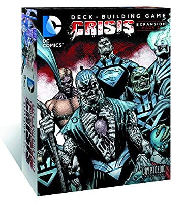 DC Deck Building Game: Crisis Expansion Card Game (Pack of 2)