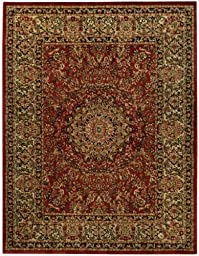 Medallion Traditional Red Ivory 5\'3\