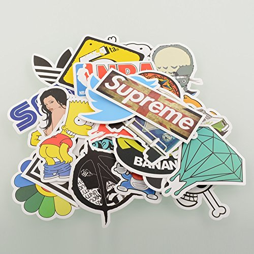 Random styles vinyl stickers 6 12cm pack of 100 15 99 6 99 funny warning bumper sticker