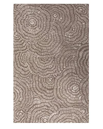 Jaipur Rugs Inc Hand-Tufted Floral Pattern Wool Area Rug