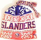 New York Islanders NHL Tassle Top Knit Beanie Toque Cap by Reebok at Amazon.com