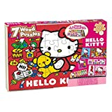 Hello Kitty 7 Wood Puzzles In Wooden Sto...