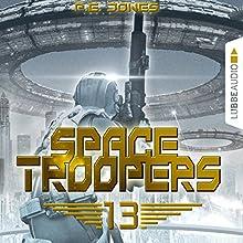 Sturmfront (Space Troopers 13) Hörbuch von P. E. Jones Gesprochen von: Uve Teschner