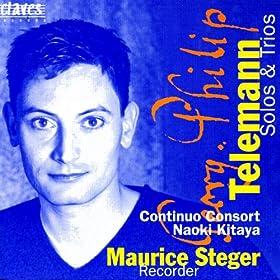 Telemann: Solos & Trio Sonatas for Recorder