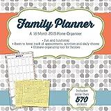 2015 Family Planner Wall Calendar Trends International