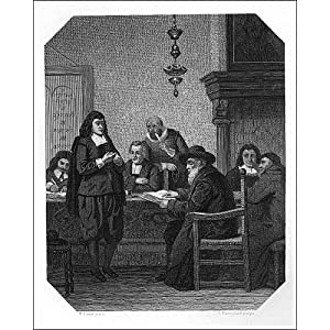 Photographic Print of Benedict Spinoza, 17th century Dutch philosopher, c1870. from Heritage-Images