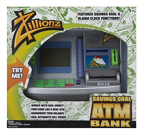 Zillionz Savings Goal ATM - 1