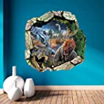 Dushang 3D Dinosaur World vinyl Wall...