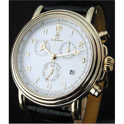 Eric Edelhausen executive mens dress chronograph watch