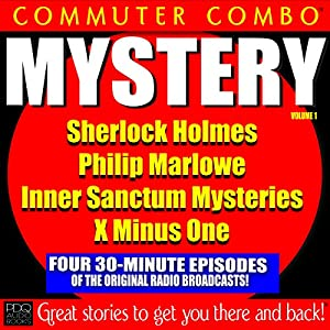 Commuter Combo, Mystery Vol 1 Audiobook