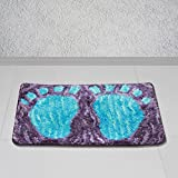 Story@Home Purple Royal 1 Pc Door or Bath Mat