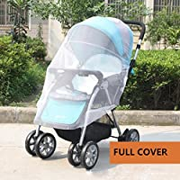 IFfree 2pcs full cover baby mosquito net for Strollers, Carriers, Car Seats, Cradles.Portable Durable Insect Netting-universal 150cm by IFfreeBaby