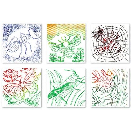 Roylco Bug Rubbing Plates for Art