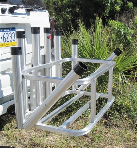 Cooler Holder For Truck Fishing Rod Holder Cooler