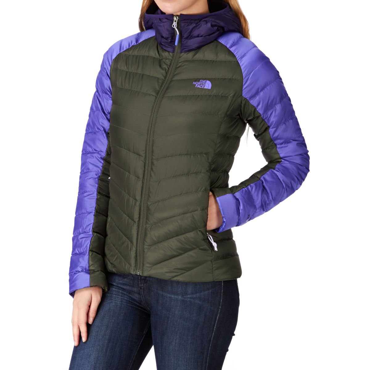 The North Face Tonnerro Hooded Jacket - New Taupe Green/starry Purple/garnet Purple