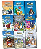 Disney Disney Club Penguin Collection 9 Books Set (Stowaway! Adventures at Sea, The Inventor's Apprentice, Star Reporter, The Great Puffle Switch, Dancing with Cadence, Before Card-Jistu: The Ninja Quest, Waddle Lot of Laughs, Secret Agent, etc) (Disney