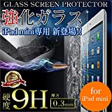 iPad mini 強化ガラス 液晶保護フィルム