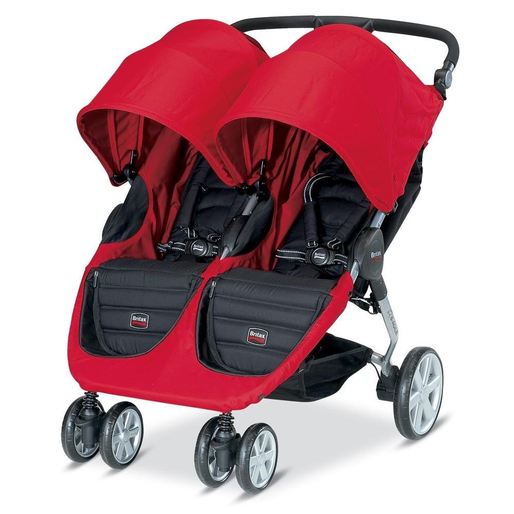 Britax B-Agile Double Stroller, Red $305.66