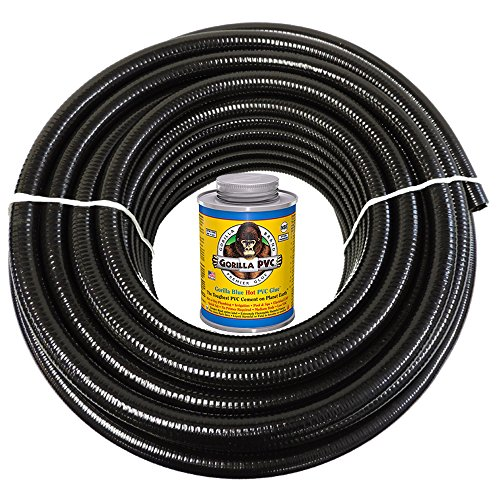 hydromaxx-25-feet-x-2-inch-black-flexible-pvc-pipe-hose-and-tubing-for-koi-ponds-irrigation-and-wate