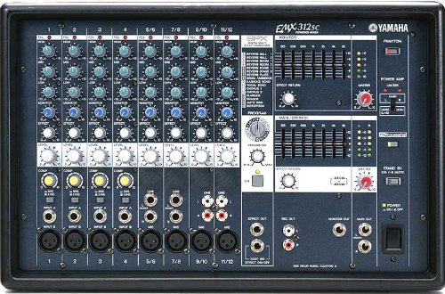 Yamaha EMX312SC Powered Mixer 300 Watt Stereo
