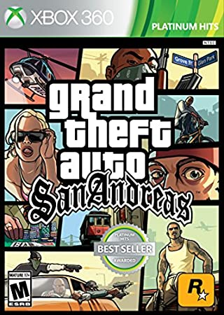 Grand Theft Auto: San Andreas - Xbox 360