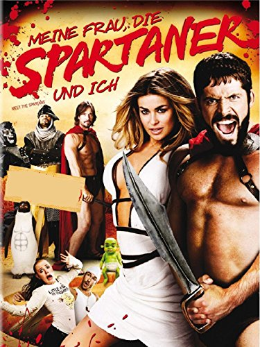 Meine Frau, die Spartaner und ich hier kaufen