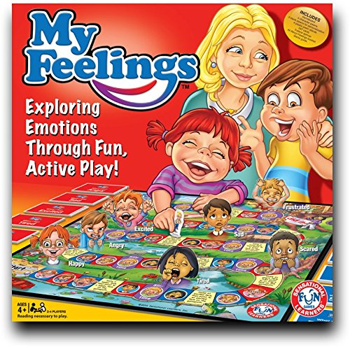 My Feelings Game, Educational board game to explore emotions through fun play! Endorsed by world renowned clinicians and educators. (All My Children Game compare prices)
