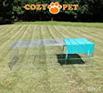 Cozy Pet Rabbit Run Playpen Rectangul...
