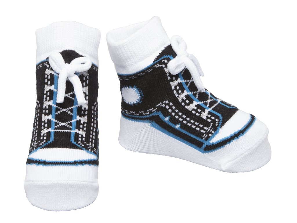 It is a unique model of socks, cute and very comfortable to wear. Baby Socks That Look Like Shoes, available for baby boys and girls. The colors are bright with varying design.