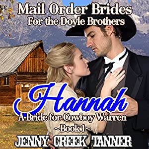 Hannah: A Bride for Cowboy Warren Audiobook