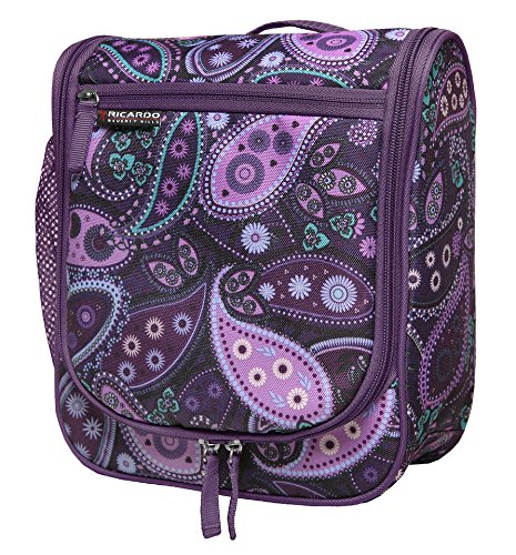 ricardo-beverly-hills-essentials-travel-organizer-purple-paisley-one-size